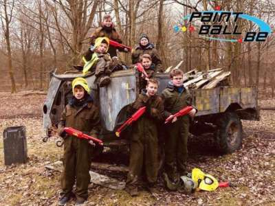 Paintball enfant charleroi